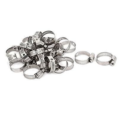 eDealMax 16-25 gusano de acero inoxidable de engranajes ...