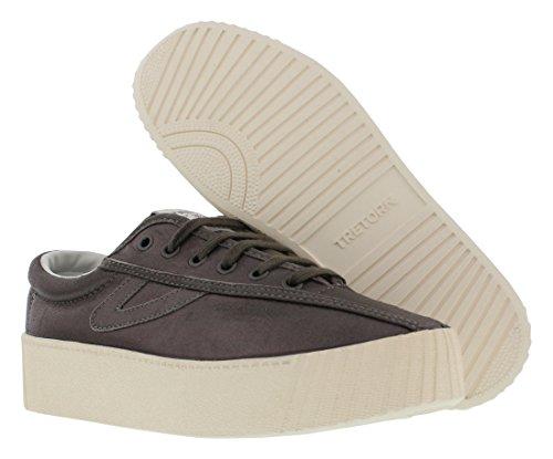 Sneaker Da Donna In Nylite6bold Tretorn Sabbia / Sabbia / Sabbia