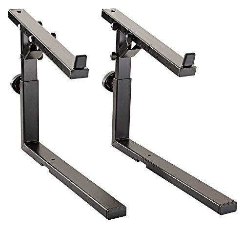 (K & M Stands K & M Adjustable stacker, black Music Stand (18811.000.55))