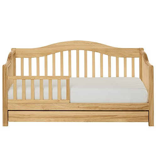 Toddler Daybed with Storage, Natural