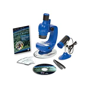 Planet Toys Planet Earth Digital Microscope Kit