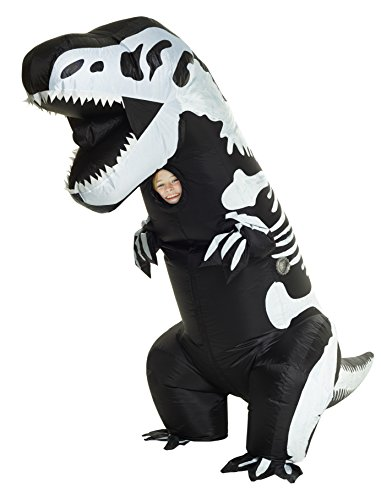 Morphsuits Giant Skeleton Inflatable Kids Costume, One Size