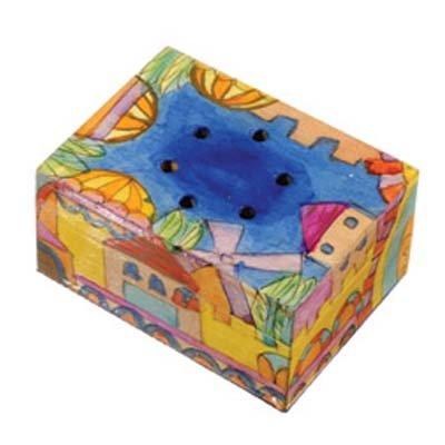 (Jerusalem Design Spice Box with Cloves)
