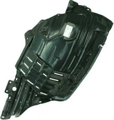 2006 Left Fender (Crash Parts Plus Front Driver Side Left Splash Shield Fender Liner for 2006-2009 Nissan 350Z)