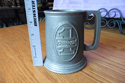 Vintage RWP Armetale Pewter Champion #1 Award Mug Cup Beer stein Champ Decor