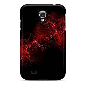 Cute Appearance Cover/tpu YqDbaFG457sQmFX Red Flare Case For Galaxy S4
