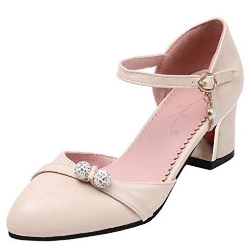 Escarpins TAOFFEN Beige Chaussures Femmes Sandales xAnfPAWgr