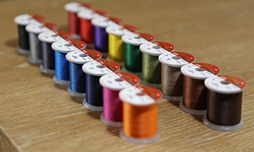 Hitena STWRAP Rod Wrapping Thread - Nylon 17 Color 100yd Complete Pack ()