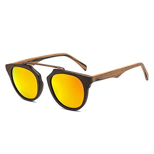 Madera Gafas Época Gafas Polarizadas Sol Y Hombre H Gafas De De Mujer De Sol De Marco Sol De De De YrYXv6