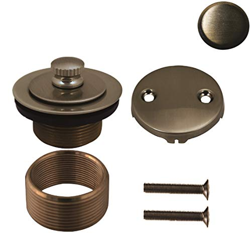 Westbrass D94K-06 Bath Drain, Antique Brass, Antique Brass ()