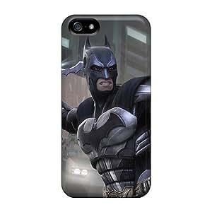 RUlUT16561BBWuJ Anne Marie Harrison Batman Throwing Batarangs Durable Iphone 5/5s Tpu Flexible Soft Case