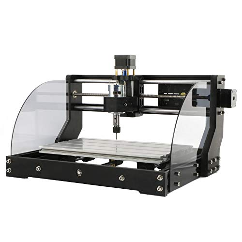 L&Z 3018 Pro Max CNC Router Engraver Wood Milling Machine Kit, Mac OS/Windows Supported, 3 Axis XYZ Carve 300×180×45mm Working Area