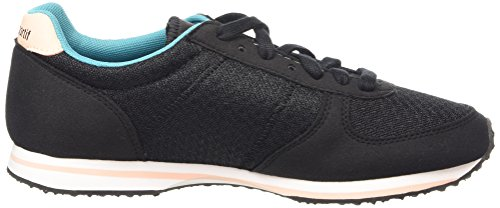 Le Coq Sportif Bolivar W Feminine Mesh Damen Low-Top Black (Black/Tropical Peach)