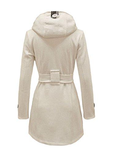 Buy belted hooded jacket