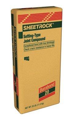United States Gypsum 380581 Sheetrock Setting-Type 20 Joint Compound (Compound Sheetrock Joint)