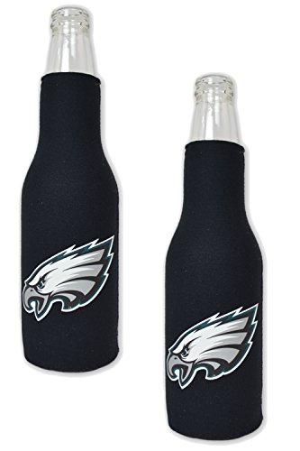Official National Football League Fan Shop Authentic NFL 2-pack Insulated Bottle Cooler (Philadelphia Eagles)