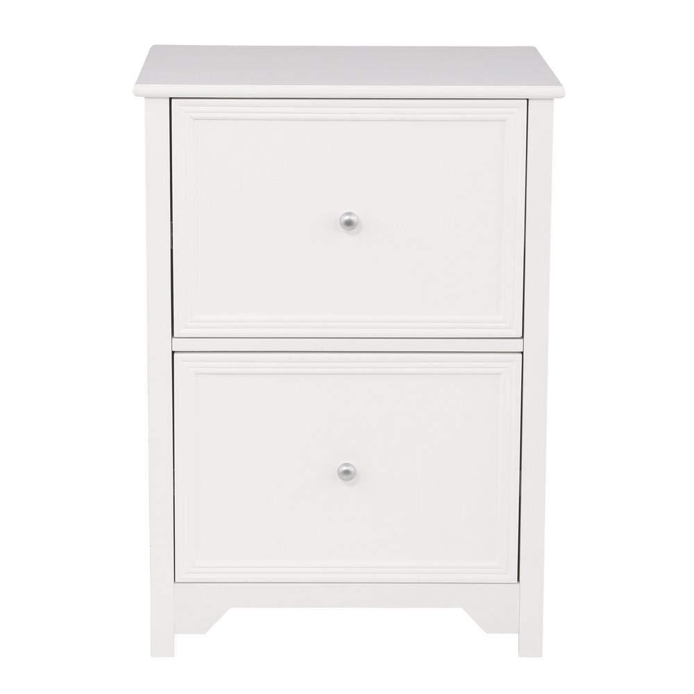 Home Decorators Collection Oxford White 28.5 in. File Cabinet - Versatile Style