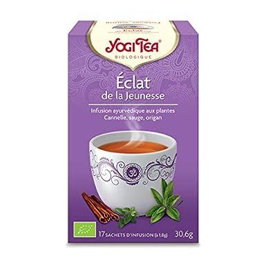 Yogi Tea - Shine Infusión De Jeunesse 17 Bolsas - Lote De 4 ...