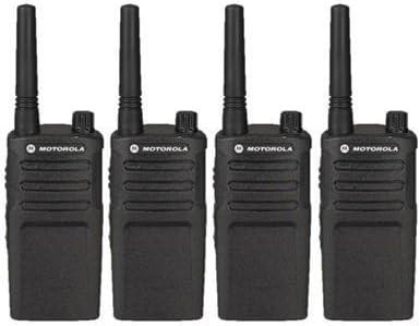 4 Pack of Motorola RMU2040 Two way Radio Walkie Talkies UHF