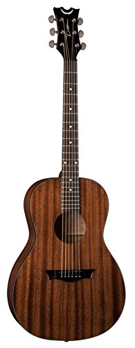 Dean Acoustic Amps (Dean AXPMAH AXS Parlor Acoustic Guitar, Mahogany)
