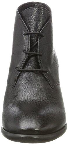 Bretoniere Bretoniere 0001 Ankle de Nero la Blockabsatz Black mit mit Fred Donna Boot Stivali Schnürung pSEfxn7w