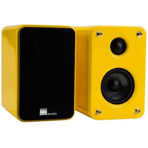Pure Acoustics Dream Box 80 W RMS Speaker - 2-way - Yellow, Black DREAMBOX YELLOW