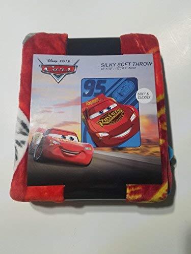 Cars Lightning McQueen Fleece Throw Blanket 40