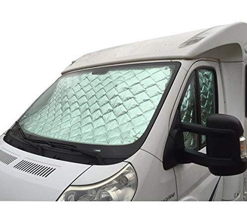 Protection thermique Ducato /à partir de lann/ée mod/èle 2002-2005 Lot de 3 pi/èces pour la cabine chauffeur