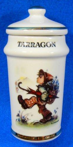 Tarragon Hummel Spice Jar Danbury Mint 1987 (Mint Hummel)