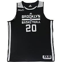 Tornike Shengelia Jersey - Brooklyn Nets 2013-2014 Season Game Used #20 Black/White Reversable Jersey ()