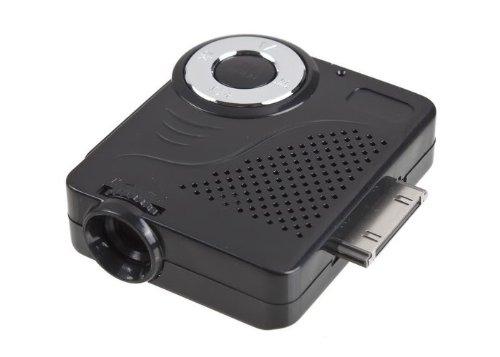 Galleon koolertron mini portable multimedia pocket for Ipod projector