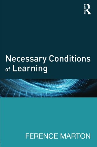 Necessary Conditions of Learning - Necessary Conditions