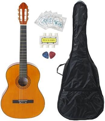 Classic Cantabile AS-851-4 - Pack de principiantes para guitarra clásica: Amazon.es: Instrumentos musicales