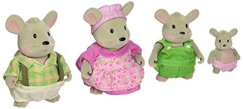 Li'l Woodzeez Handydandys Mouse Family Set with (Calico Critters Mouse)
