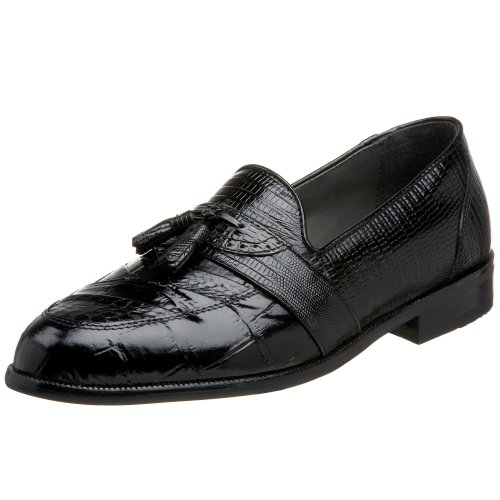 Stacy Adams Men's Santana Tassel Loafer,Black,12 M