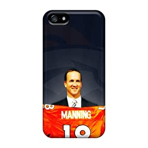 Shock Absorption Hard Phone Covers For Iphone 5/5s (BPL4446ZJBz) Allow Personal Design Attractive Denver Broncos Image