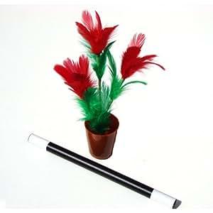 Ramo de flores con varita mágica - Juego de Magia