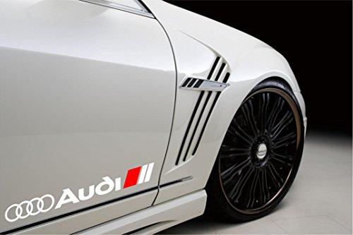 DECALS USA Sport Racing Decal Sticker Emblem Logo (White) ()