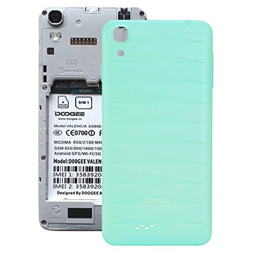 DOOGEE VALENCIA DG800 Replacement Battery Back Cover (Blue)