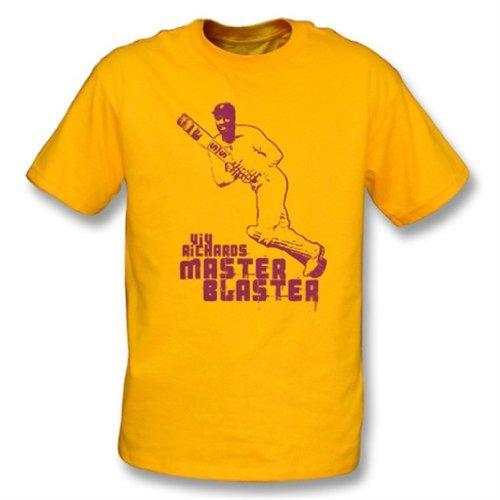 Viv Richard Master Blaster t-shirt X-Large Sunflower (Best Of Viv Richards)