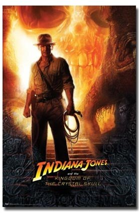 Indiana Jones and the Crystal Skull Harrison Ford Movie Post