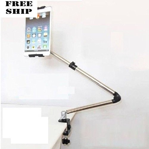 360? Lazy Bed Desk Mount Stand Holder Desktop For Ipad Air Mini Samsung (Dual Gig Desktop)