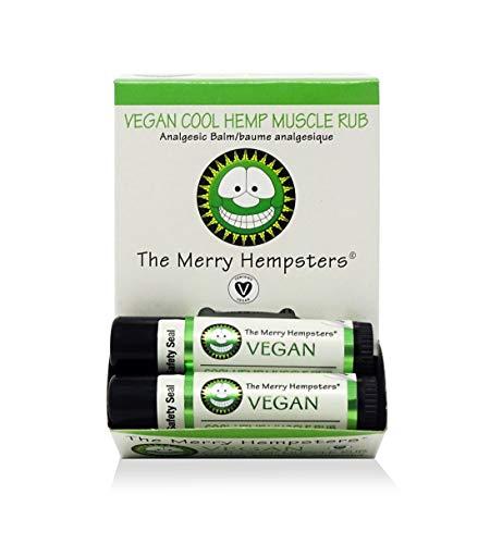 The Merry Hempsters Cool Hemp Muscle Rub Display Case (12 tubes)