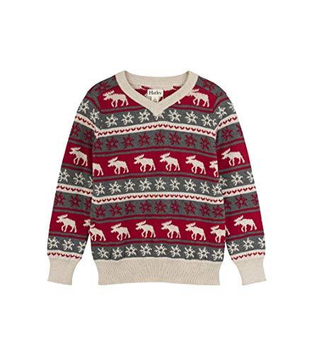Hatley Boys' Little V-Neck Sweaters, fair isle Mouse 6 -