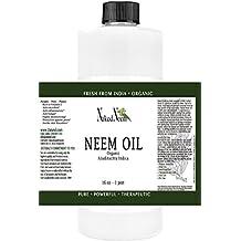 Naked Neem Organic Unrefined Oil, 16 oz.