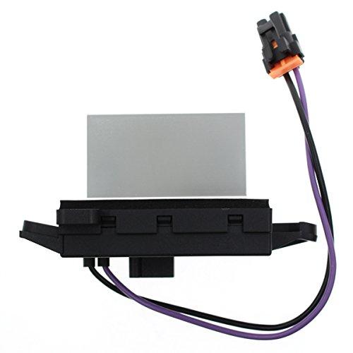 AUTOKAY Blower Resistor Replaces Updated Design for GM 4P1516 MT1805 RU-631 JA1639 BMR34 (Blower Replace Resistor)