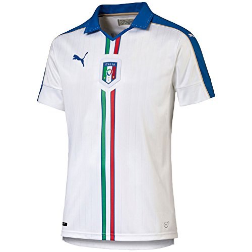 PUMA Italy Away Soccer Jersey 2015/16 (White) Sz. Medium
