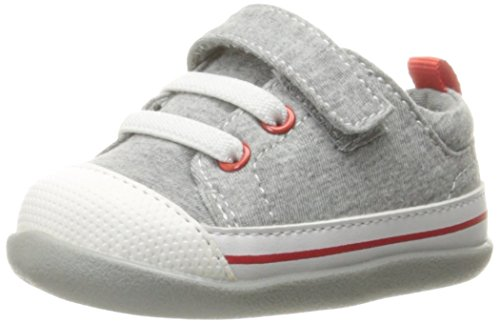 Image of See Kai Run Boys' Stevie II Gray Jersey Boat Shoe, 3.5 M US Infant