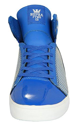 Supra Caballeros Sneakers SOCIETY MID Mesh Tuff azul