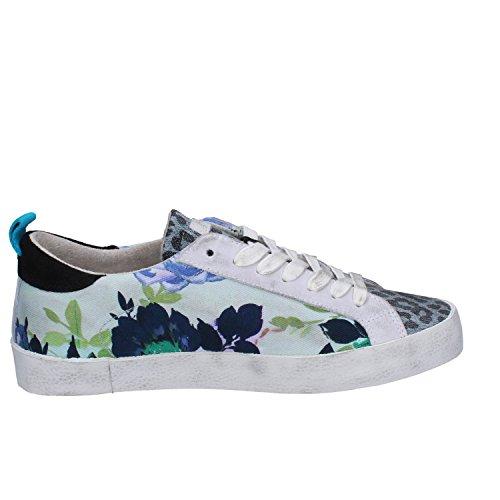 D.a.t.e. Date Sneakers Damen 37 EU Multicolor Wildleder Textil